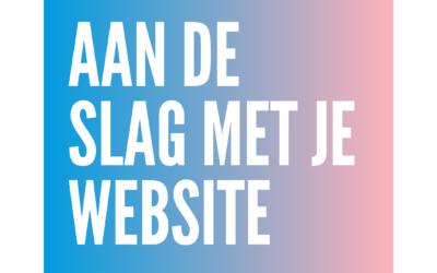 Aan de slag met je WordPress website