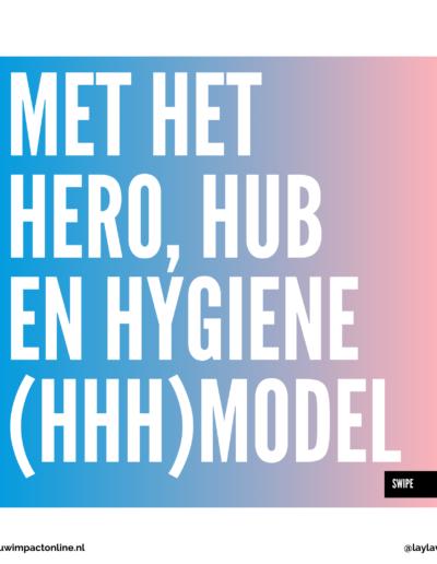 HHH model voor contentcreatie