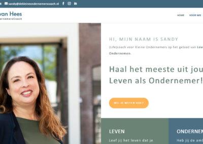 WEBSITE DE KLEINE ONDERNEMERSCOACH